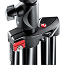 MANFROTTO 1004BAC MASTER STAND Air cushioned, supports 9kg, 106cm footprint, black