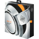 NEUMANN NDH 20 HEADPHONES Closed, 150 ohms, neodymium, single-sided cable entry, silver/orange/black