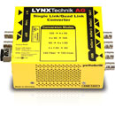 LYNX YELLOBRIK CQS 1441 CONVERTER 2SI quad to single link, bi-directional, 12G