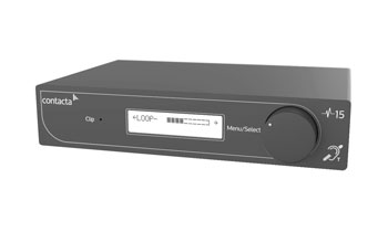 CONTACTA V14 HEARING LOOP DRIVER Class D amplifier, single output, 14Vrms