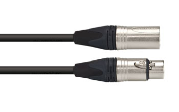 CANFORD CABLE 3FXX-3MXX-HST-0.5m, Black
