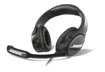 BOSE SOUNDCOMM B30 HEADSET Dual sided, left side mic boom