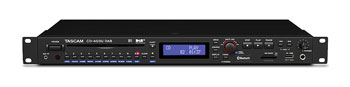 TASCAM CD-400UDAB MEDIA PLAYER CD, USB, SD, Bluetooth, DAB+/FM, 1U rackmount