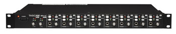 TASCAM MH-8 Headphone amplifier for studio, stage and installation