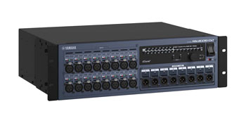 YAMAHA RIO1608-D2 DANTE INTERFACE 16 mic/line in, 8 line outputs, 3U