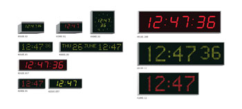 WHARTON CLOCKS - Non-Network Versions -  Enhanced features - 4000E Series