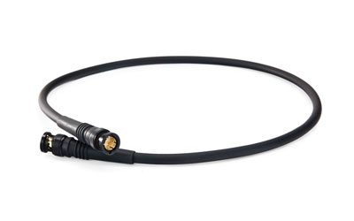 CANFORD CABLE 12G BNC-BNC-SDV-F-600mm, Black