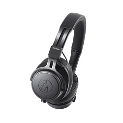 AUDIO TECHNICA ATH-M60X HEADPHONES Closed, 38 ohms, 3.5mm jack, 6.35mm adapter, straight + coiled