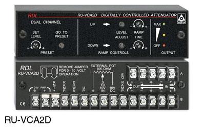 2 Radio Design Labs RU-VCA2A Digitally Controlled Attenuators