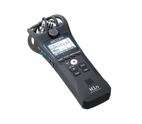 ZOOM H1N HANDY RECORDER Portable, MP3/WAV, micro-SD/SDHC, X/Y mic, 3.5mm jack line input