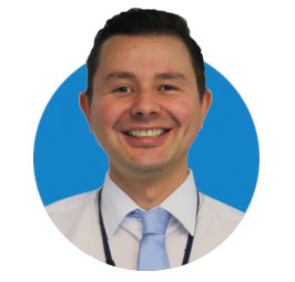 Mark Duff, Sales Manager