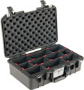 PELI 1485 AIR CASE With TrekPak, internal dimensions 450.9 x 258.6 x 156.2mm, black