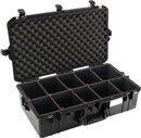 PELI 1605 AIR CASE With TrekPak, internal dimensions 660.4 x 355.6 x 212.9mm, black