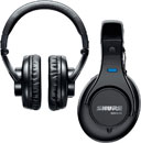 SHURE HEADPHONES AND HEADSETS
