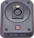 AUDIO TECHNICA AT8647QM/S MICROPHONE PLATE With shockmount, screw terminal output, mute switch