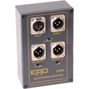 EMO E325 MICROPHONE SPLITTER 1 channel, 3 way, free standing