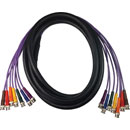 CANFORD BNC-BNC BREAKOUT CABLES, 7 WAY, SDM-R Ruggedised cable - 3G